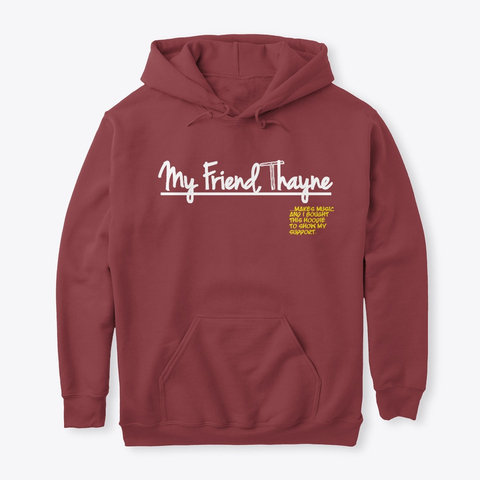 """I Support"" Hoodie (RED)"
