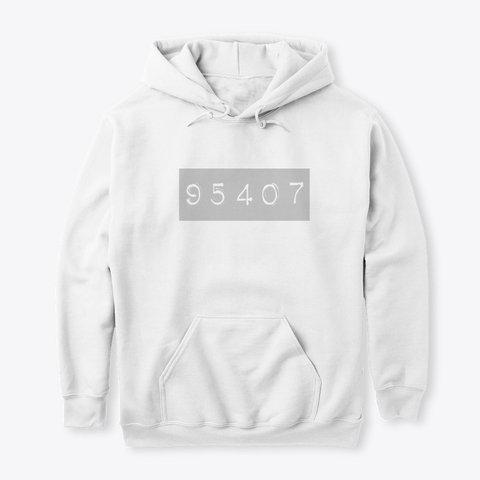 95407 HOODIE (WHITE)
