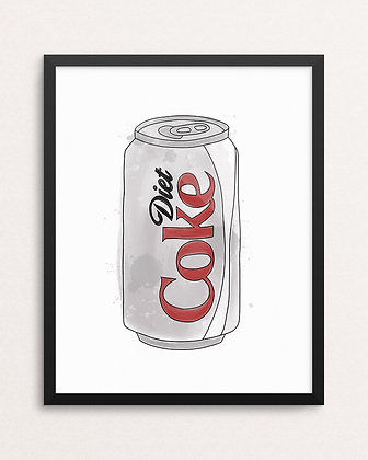 DIET COKE // Art Print