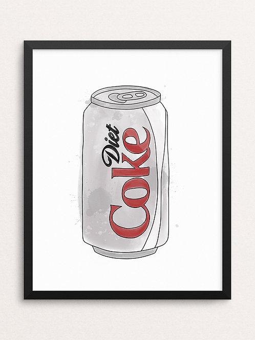 DIET COKE // Art Print