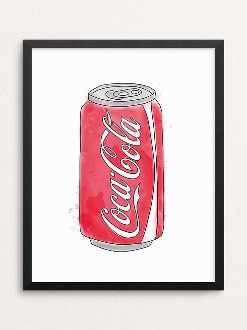 CLASSIC COKE // Art Print