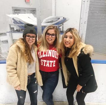 Ice Skating Sisterhood
