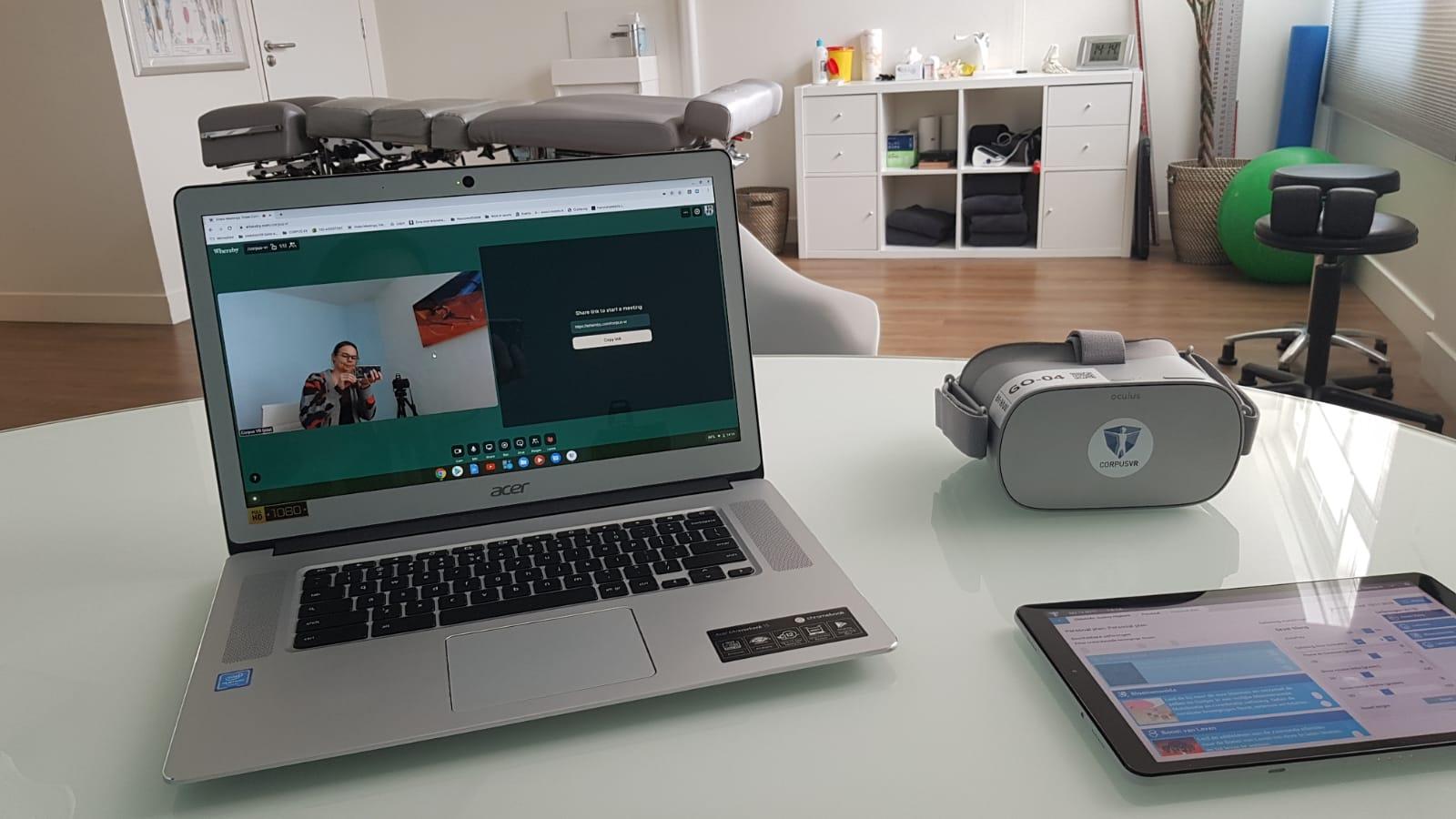 Corpus VR Telehealth