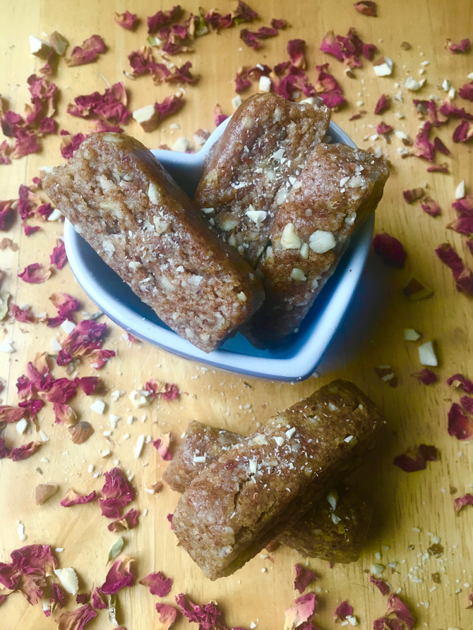 Raw Almond Anise Biscotti (vegan & grain free)