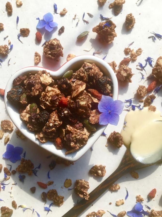 Halva Seedy Granola (vegan, gluten & grain free)
