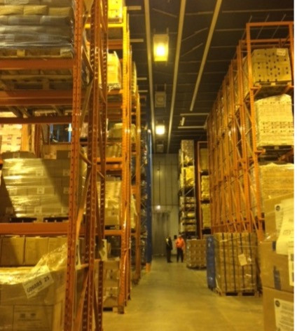 Xpo Before - Warehouse