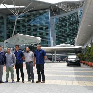 Visit by Tabung Baitulmal Sarawak