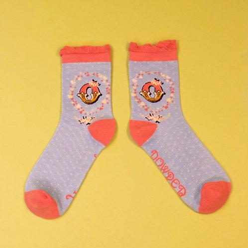 Monogram Socks - O