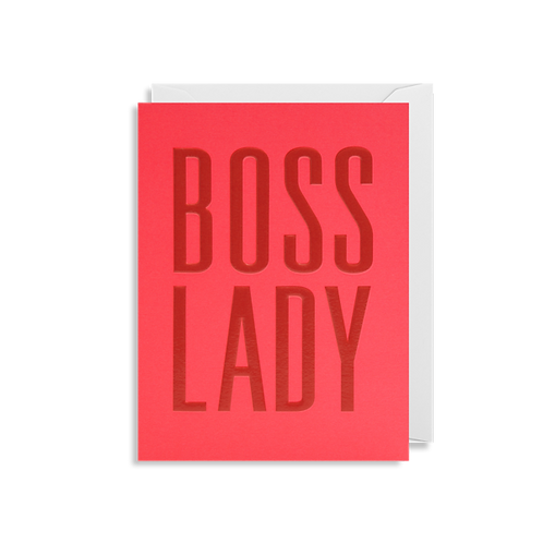 Boss Lady - Mini Card