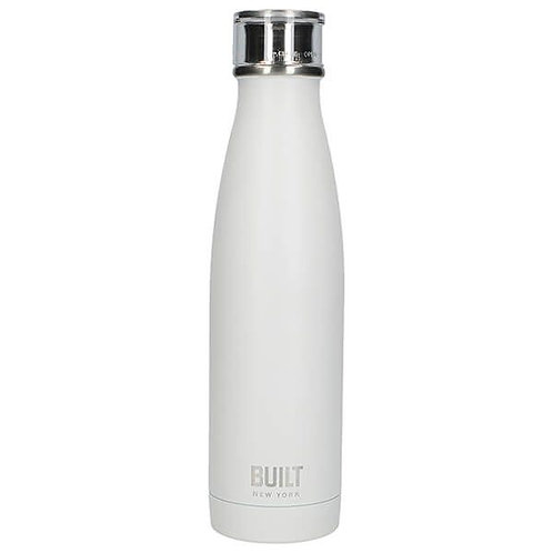 Built Stainless Steel Water Bottle - White