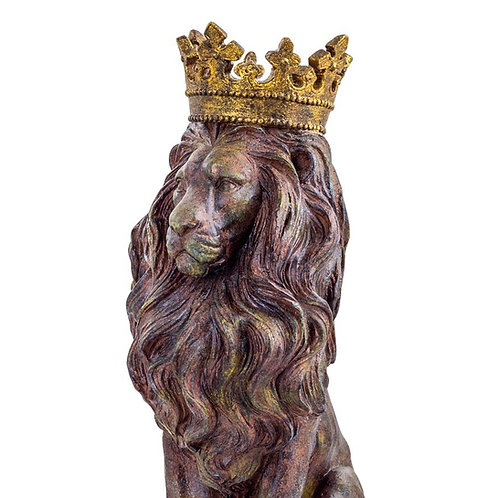 Crowned Lion Ornament