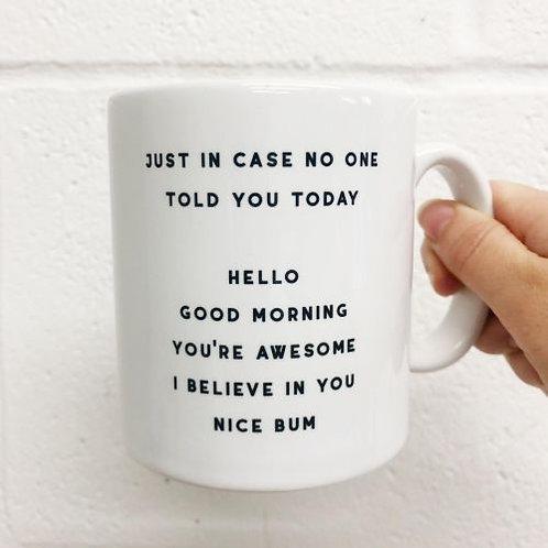 Nice Bum Mug