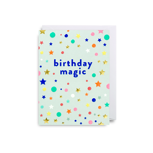 Birthday Magic - Mini Card