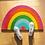 Thumbnail: Rainbow Shaped Door Mat