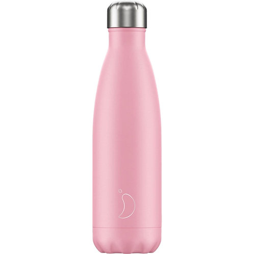 Chilly's Pink Pastel Edition Water Bottle 500ml