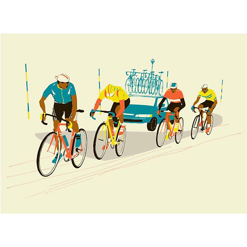 Four Riders Print