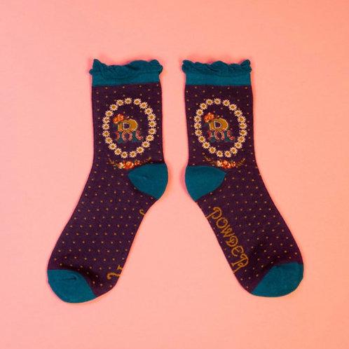 Monogram Socks - R