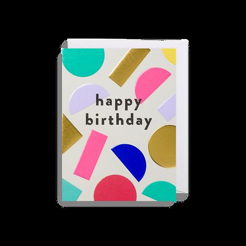 Happy Birthday - Mini Card