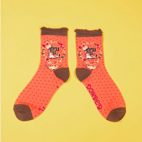 Monogram Socks - E