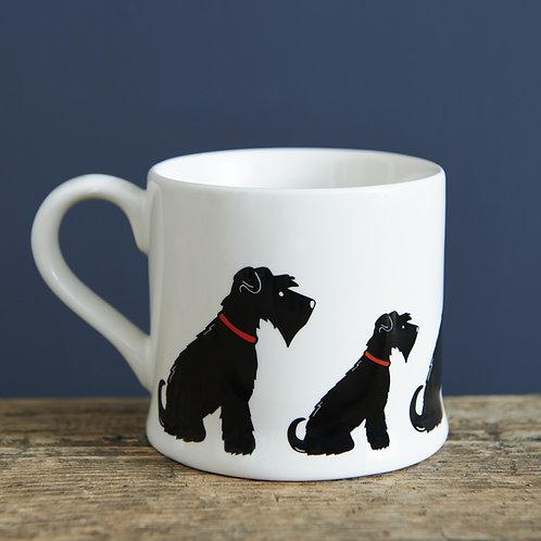 Schnauzer Black Mug