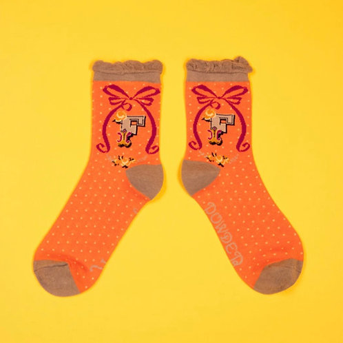 Monogram Socks - F
