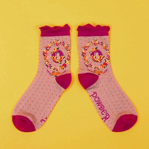 Monogram Socks - Q