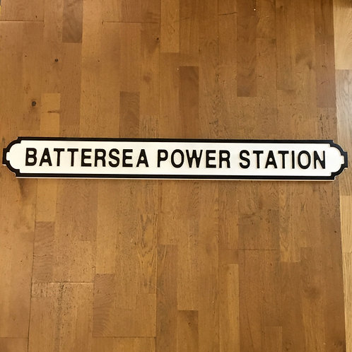 Battersea Power Station Road Sign