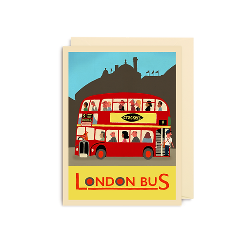 London Bus - Mini Card