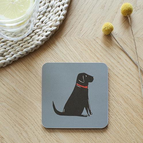 Labrador Black Coaster