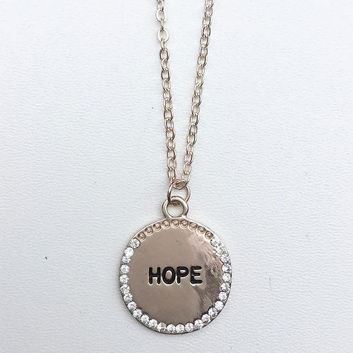 Hope Necklace - Rose Gold