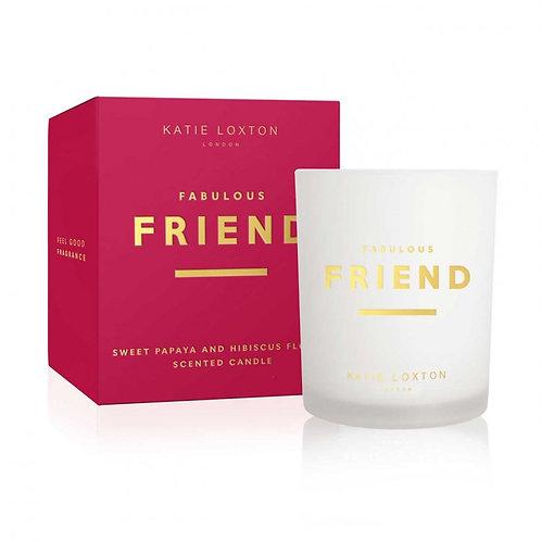 Katie Loxton Sentiment Candle - Friend