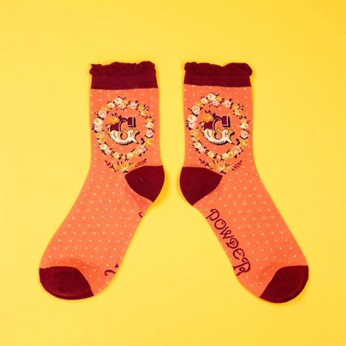 Monogram Socks - G
