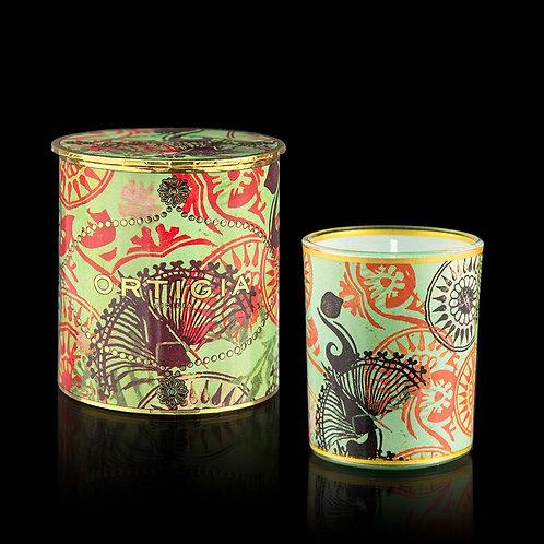 Ortigia Decorated Candle 150g - Fico d'India