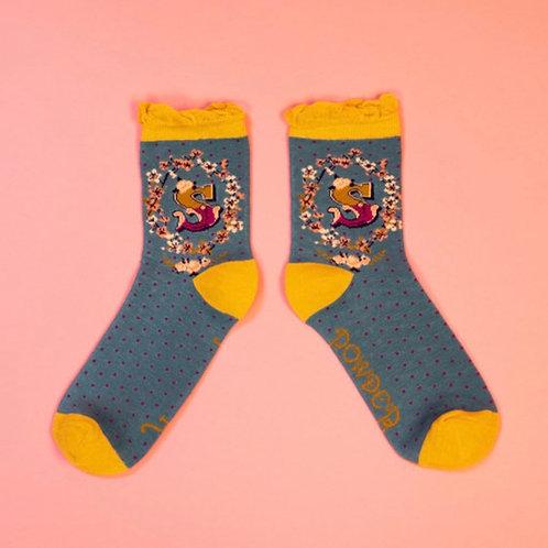 Monogram Socks - S