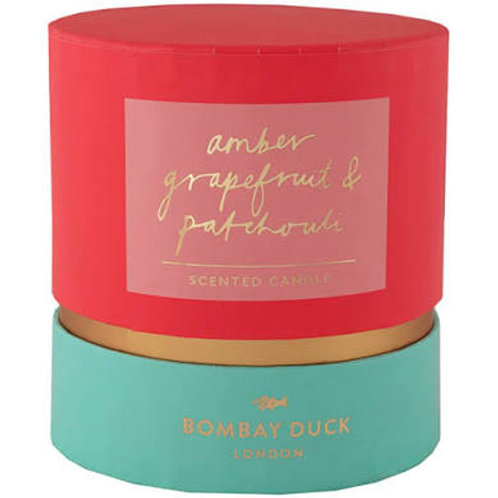 Amber Grapefruit & Patchouli scented candle