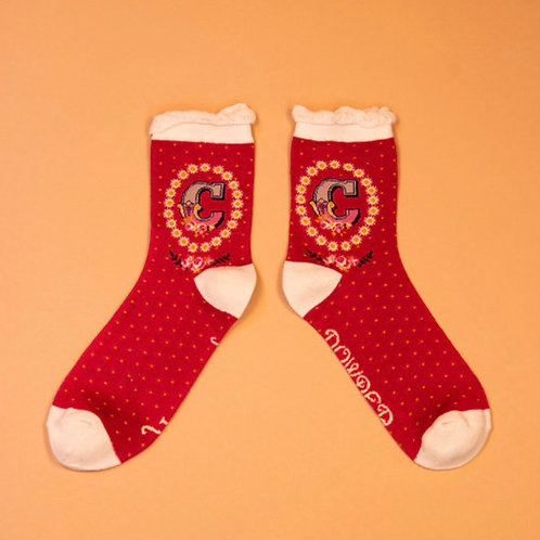 Monogram Socks - C