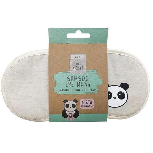 Bamboo eye mask