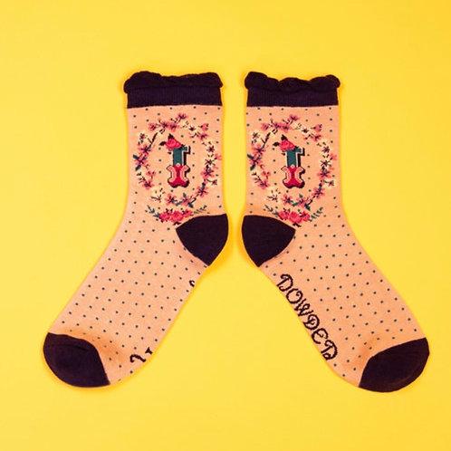 Monogram Socks - I