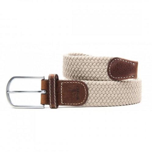 Elastic Woven Belt - Sandy Beige