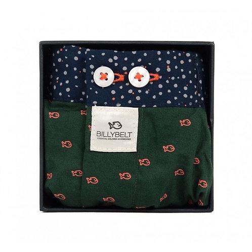 Organic Cotton Boxer Shorts - Billy Green