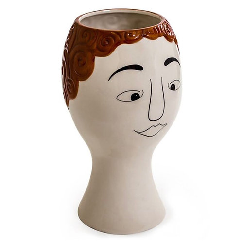 Doodle Redhead Vase