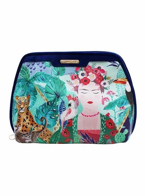 Frida Kahlo Make Up Bag Large