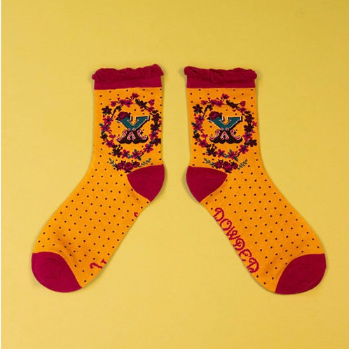 Monogram Socks - X