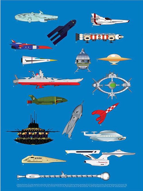 Spaceships Print