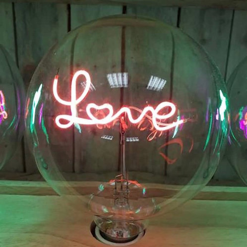 Message in a Bulb - Love Table Lamp