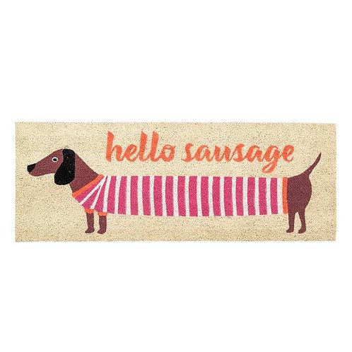 Hello Sausage Long Door Mat
