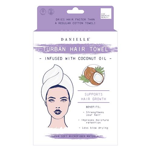 Turban Hair Towel - Coconut Oil