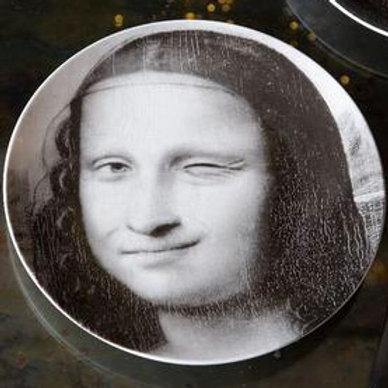 Winking Mona Lisa Side Plate
