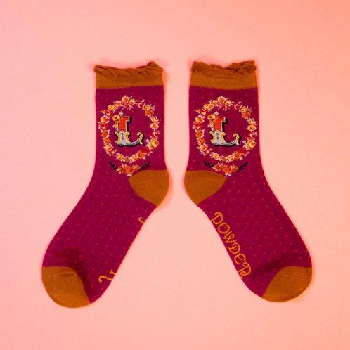 Monogram Socks - L