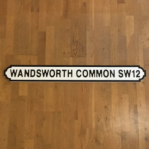 Wandsworth Common SW12 Road Sign